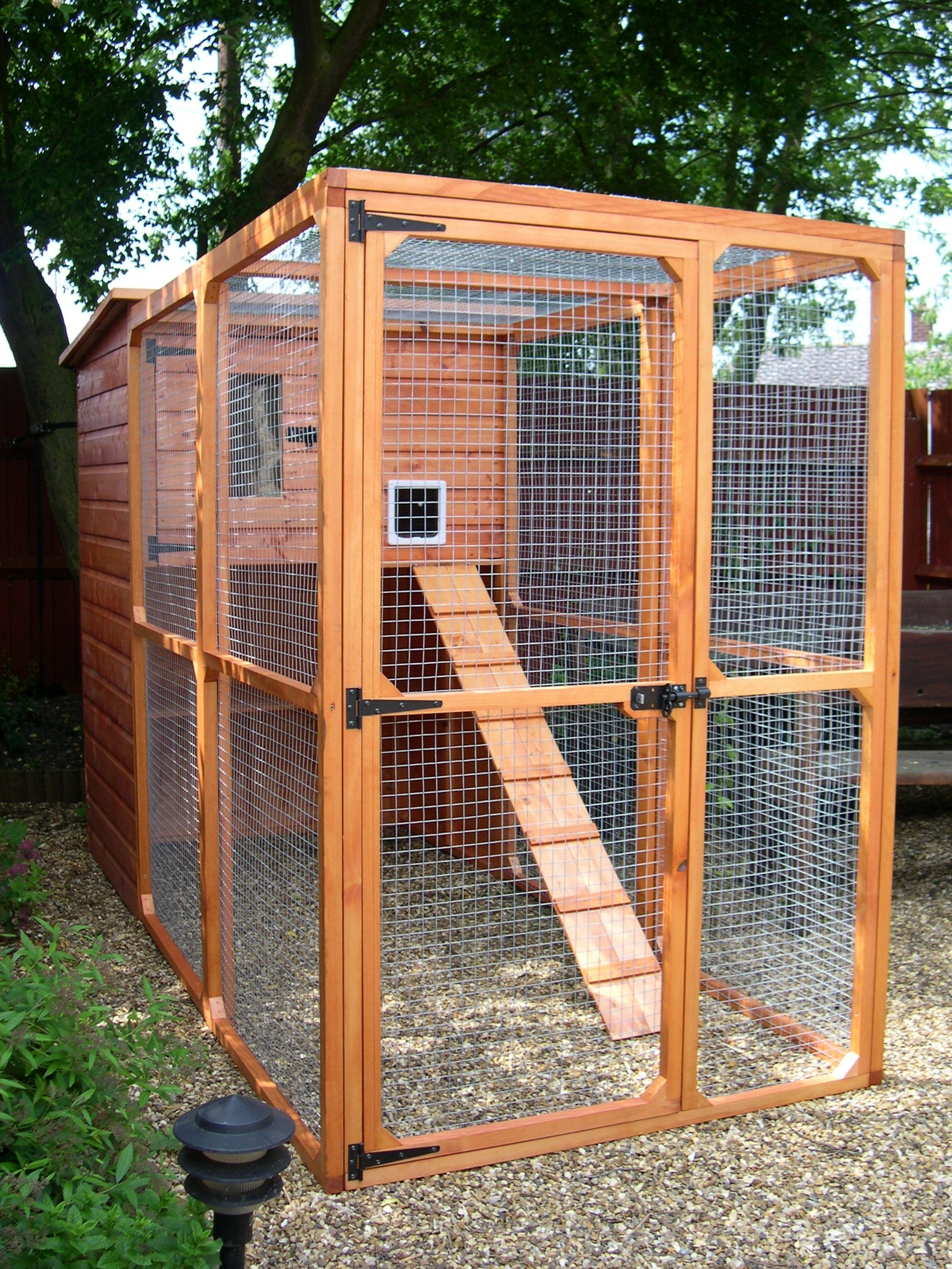 Building A Catio – An Outside Cat Enclosure