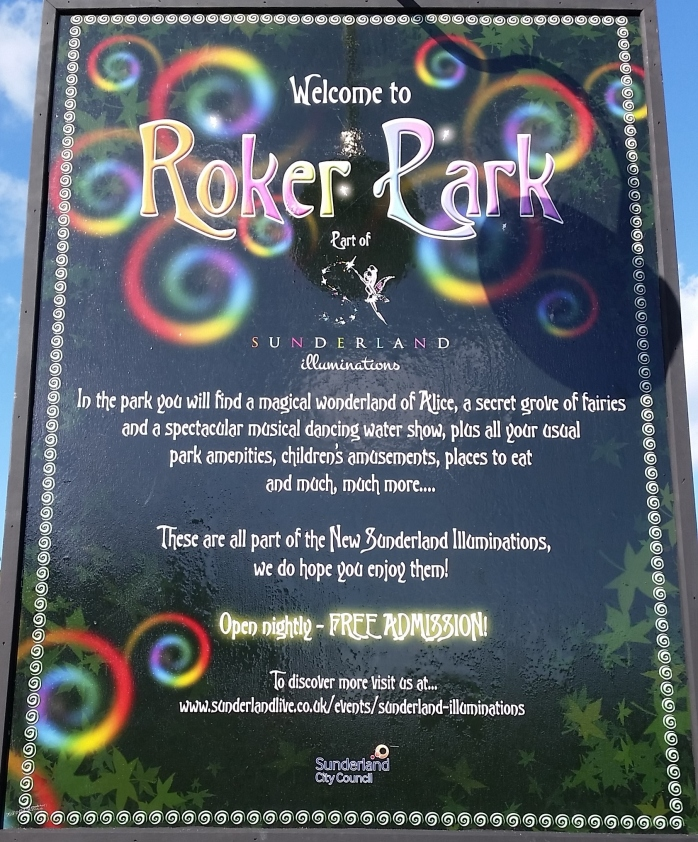 Roker Park Illuminations Information 2014