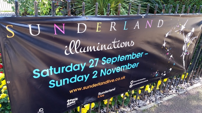 Sunderland Illuminations Autumn 2014