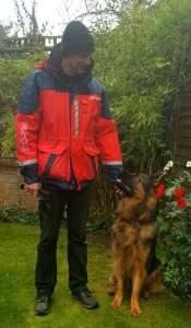Dog walk south shields
